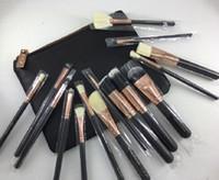 2019 Poignée Maquillage Brosses Set Cosmétiques Professionnel Kits de brosses Fondation Fondation Brops de paupières Kit Maquillage Outils de maquillage 15pcs / set