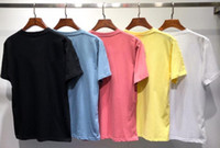 New Summer Designer Mountain Landscape T Shirt da uomo Donna Moda Paesaggio Stampa maniche corte in cotone di alta qualità Tees casual in cotone