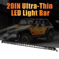 Light Light 9-30 V 180W Slim LED Bar Single Row Spot Beam Work Off-Road IP67 per guidare barca auto camion fendinebbia 1