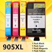 Compatible para 905 905XL 905 XL Cartucho de tinta con chip para OfficeJet Pro 6960 6970 6950 6956 impresora todo en uno1