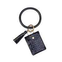 1pcs New Bracelet Key Chain Leather Tassels Diy Curtain Garm...