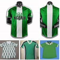 1994 1996 1998 1999 Retro N1Geria Soccer Jersey Okecha Starboy Futebol Jerseys Okechukwu Dayo Clássico Futebol Uniformes