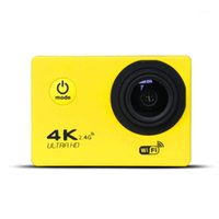 스포츠 액션 비디오 카메라 울트라 HD 4K 카메라 와이파이 캠코더 16MP 170 Go Cam DePortiva 2 인치 스크린 F60 F60R 방수 스포츠 PRO 1080P