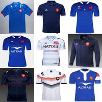 Top Quality 2018 2019 New France Super Rugby Jerseys 18 19 França Rugby Maillot de Francês Rugby Jersey Camisas