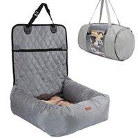 Coperture sedili per auto per cani 2 in 1 Deluxe Pet Letto PET Impermeabile Nylon Carrier Bag Cat Sleep Basket Posteriore posteriore Mat da viaggio Accessori da viaggio