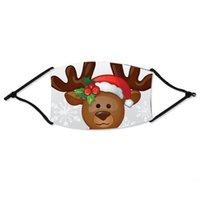 كارتون # 28533 و أقنز الفتيات الغبار خاص الكرتون عيد الميلاد كيد الوجه الأطفال تنفس الصلبة الأولاد اللون واقية MFDJM