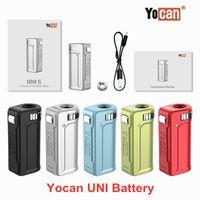 YOCAN UNI SC BOX MOD MOD Voltage de la tension de la variable VV 400mAh Batterie Vape ECIGS pour 510 cartouches d'huile épais magnétique