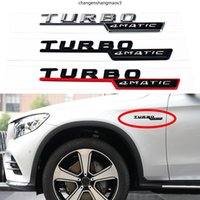 2PCS سيارة الجسم درابزين 4matic توربو شعار شعار لمرسيدس بنز AMG A C E SCH CLASS GT SLK SLK SLS A180 A200 E220 E250 الملحقات