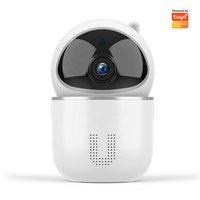 Telecamere di sorveglianza Telecamere Auto Tracking Night Vision Baby Monitor 1080p WiFi Camera per Tuya Smart Life