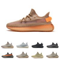Hombre Kanye West V2 Sneakers Antllia Israfil Yecher Reflexivo Nube Nube Blanco Clay Marsh Cream Static Cinder Zyon Tail Light Botas Zapatos