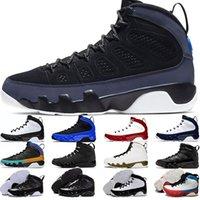 2021 Erkek Basketbol Ayakkabı 9 9 S Racer Mavi Bred UNC Spor Salonu Kırmızı Narenciye Erkekler Eğitmenler Spor Sneakers Boyutu 40-47