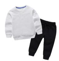 2019 Bebek Giyim Setleri 2-11 Yıl Çocuk Konfeksiyon Sonbahar Ve Kış Yeni Desen Erkek Kız Kazak Takım Elbise Çocuk Ceket Giyim Coatsets