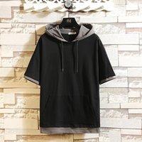 Summer Herren Sweatshirt Streetwear Hip Hop Punk Rock One Piece Freunde Körper Übergroß Y201001