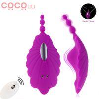 Tragbare Höschen Vibrator Unsichtbar Vibrierender Ei Fernbedienung Vagina Klitorinstimulation Analsex Spielzeug Für Frauen Masturbator