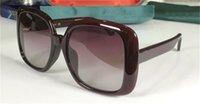 Yeni Moda Pop Güneş Gözlüğü 0713S Büyük Kare Çerçeve Klasik ve Cömert Stil En Kaliteli Basit Avant-Garde Açık Gözlük