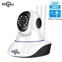 Kameralar Hiseeu Ultra HD 3MP 1080 P Kablosuz IP Kamera Wifi 1536 P Ev Güvenlik Gözetleme CCTV Bebek Kamera Akıllı Oto Tracking1