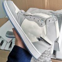 2021 новый цвет официально выявлен юбилей Сотрудничество серый белый французский стиль моды этикетка KIM JONES кроссовки Обувь размером 36-46