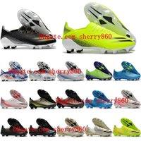 2021 أحذية كرة القدم نوعية رجالي x ghosted .1 FG AG المرابط أحذية كرة القدم في الهواء الطلق Scarpe
