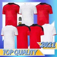 2020 2021 Egitto Casa Away Soccer Jersey M. Salah 20 21 Kahraba A. Hegazi Ramadan M.ELNENY Uniformi Jerseys fans Version Camicia calcio