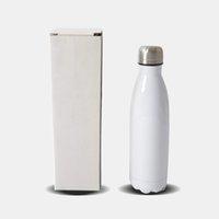 17oz sublimation Cola bouteille bricolage entendre transfert bouteille d'eau isolé sublimation tumbler bricolage sublimation impression cola canettes
