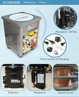 ETL CE 55cm (22 인치) 큰 팬 식품 가공 장비 튀김 아이스크림 롤 기계