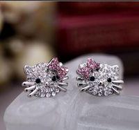Diamant-Katzenring-Cluster-Ring-Verlobungsringe Modeschmuck Fabrikpreis Kostenloser Versand