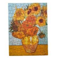 150 piezas de la famosa pintura de Van Gogh Puzzle de tubo de prueba, juguete de descompresión educativa, rompecabezas de tubo de ensayo de juguete de ocio creativo A7