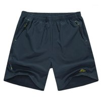 Shorts Men Summer Quick Dry OutdoorBeach Shorts Mens Plus Si...