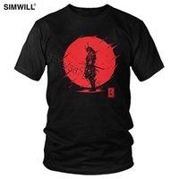 Legal Samurai Spirit T Shirt Homens Marca de Manga Curta Tee Algodão Top Vermelho Sol Japonês Armadura Guerreiro T-shirt Oversize Classic Tshirt X1214