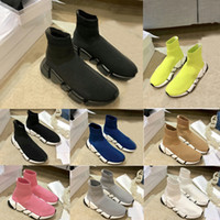 2021 designer men women speed 2.0 trainer sockbalanciagaboots socks boot casual shoes shoe sneakers