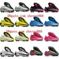 2021 Soccer Shoes Mens Cleaves Phantom Scorpion Elite Dynamic Fit FG Crampons de Futebol Botas