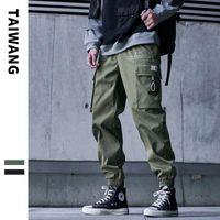 Мужские джинсы зима новых мужских повседневных модных брюк мужчина негабаритных грузов хип-хоп моды брюки женщины хараджуку прямые брюки
