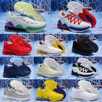 جديد XVII 17 Low University Red Shoes for sale Men Women Women Metallic Gold Basketle Shoes Store US7US12