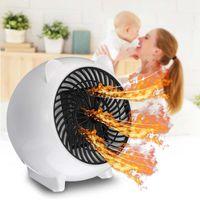 Aquecedores elétricos inteligentes 220v 500w mini portátil aquecedor desktop parede Aquecedor de aquecimento histy Máquina aquecedor para casa Office1