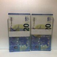 Hot Faux Bar Requisiten Geld Gefälligkeit Prop Realitic Billet 20 Le20-11 und Billet Xeenp Atmosphäre Euro Bar Währung THKSU