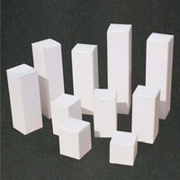 5x5cm Bianco scatola Kraft Box Cartone Scatole di cartone Rossetto Cosmetico Profumo Bottiglia Kraft Scatola di carta Kraft Scatole di imballaggio olio essenziali - 0315 pacco