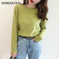 Spring Autumn Basic Women' s Jumper Winter Clothes Knitt...