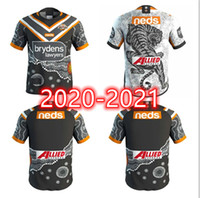 2020 2021 New West Tigers Inicio / Away Nice Rugby Shirt 20 21 Australian Rugby Tigers West Tigers Rugby Shirt S-5XL
