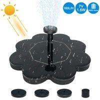 Mini bomba de agua flotante ideal solar de agua solar para la decoración del estanque de la piscina del jardín1