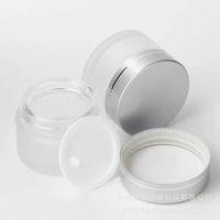 Bottiglie portatili Cosmetici glassati Cosmetici vuoti Crema per viso Conveniente donna Boccette da uomo Barattolo di vetro forniture di alta qualità 1 15LJ K2