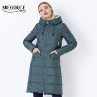 Miegofce 2020 Yeni Kış kadın Ceket Kaban Basit Kadın Parkas Sıcak Kış Kadın Ceket Yüksek Kaliteli Biyolojik-Aşağı Parkas LJ201021
