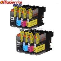 LC103 LC101 Cartuccia d'inchiostro compatibile per Brother MFC-J285DW J470DW J475DW J650DW J870DW J875DW J245 J450DW -J152W Printer1