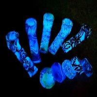 Светящиеся трубы стеклянные чаши трубы силиконовые трубы защиты окружающей среды силиконовые фабрики прямые трубы продаж стеклянные чаши