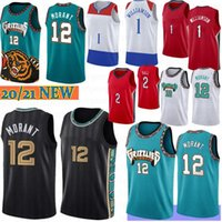 JA 12 Morant Zion 1 Williamson NCAA Basketball Jersey Lonzo 2 Ball S-XXL Camiseta de Baloncest 2021 Stock Männer Kinder 2021 Camisetas de Baloncesto