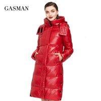Gazman 2020 Yeni Yüksek Kalite Moda Aşağı Parka Kadınlar Kış Jas kadın Ceket Çıkış Kadın Kirpi Kapşonlu Yağ Coat 018