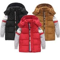 Olekid otoño invierno algodón cálido chaleco niños niños niños sin mangas chaqueta 3-12 años adolescente chicas abrigo chico chaleco chaleco 201110