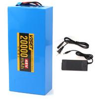 Batteries d'ion au lithium Hailong - 48V 20 AH Batterie eBike avec charge pour 1000W 750W 350W 250W Bafang Voilamart et autres