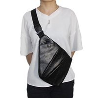 Sacos ao ar livre saco de arma tático pistola couro escondido armazenamento coldre peito bolsa caça caminhadas ombro anti-roubo