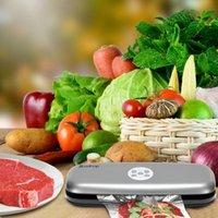 Elektryczne automatyczne uszczelnienie oszczędzania żywności Uszczelniacz kuchni żywność maszyna do pakowania owoców do domu z próżniowymi torbami uszczelniającymi