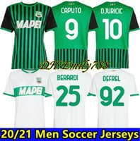 Caputo Sassuolo Soccer Jerseys Berardi 2021 Traore Djuricic Chemise de football 20 21 m.Lopez Boga Defrel Futbol Camisas Football Camisetas Chemise